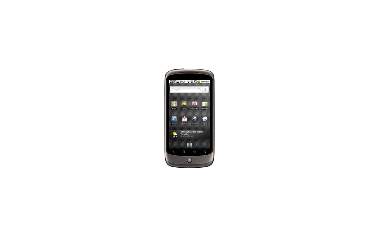 Google Nexus One Grijs