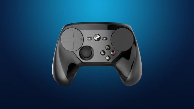 Valve Steam Controller Zwart, PC