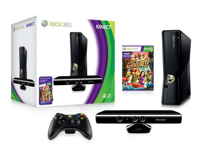 Kinect-bundel met Xbox 360 4GB