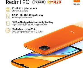 Xiaomi Redmi 9a/9c