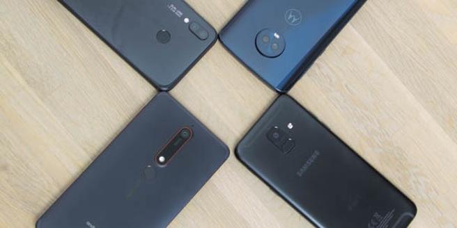 Roundup smartphones 300 euro