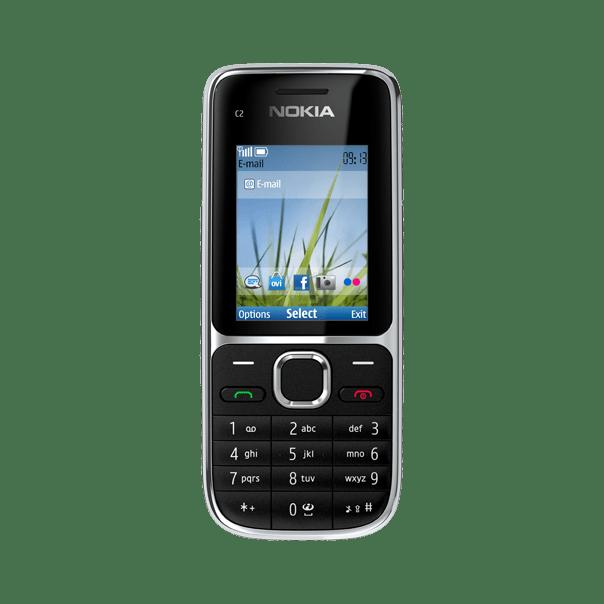 Nokia C2-01 Zwart