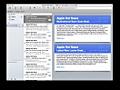 OS X Lion: Mail en iCal