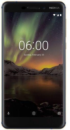 Nokia 6.1 - 64GB - Blauw/Goud Blauw, Grijs, Zwart