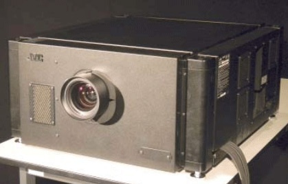 NHK JVC 8K projector