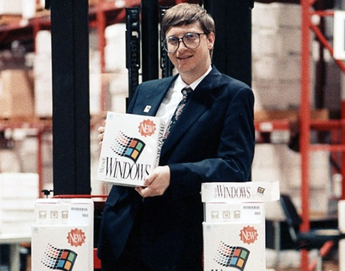 Microsoft Windows 3.0 Bill Gates