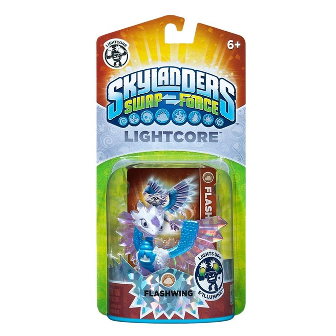 Skylanders Swap Force Flashwing (Light Core), Nintendo 3DS, PlayStation 3, PlayStation 4, Wii, Wii U, Xbox 360, Xbox One
