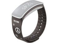 Goedkoopste Samsung polsband Gear Fit Moschino grijs/zilver