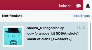 Forum quote notificatie 2