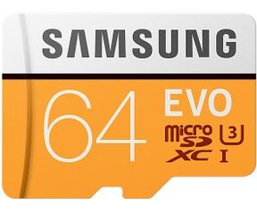Samsung MicroSDXC EVO 64GB