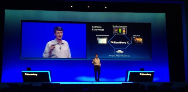 Keynote Thorsten Heins BlackBerry DevCon Amsterdam