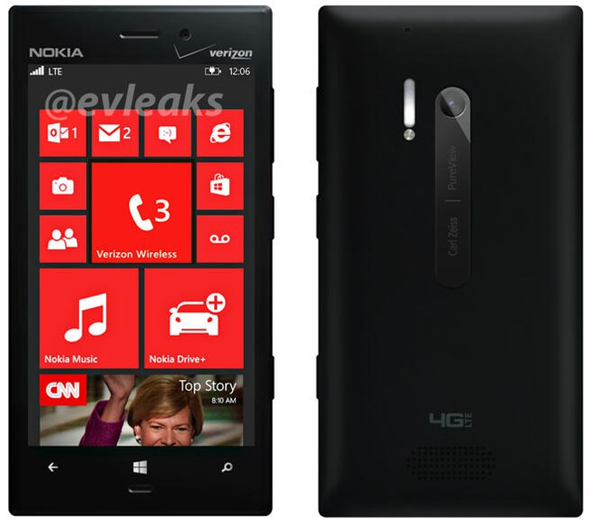 Nokia Lumia 928 Evleaks