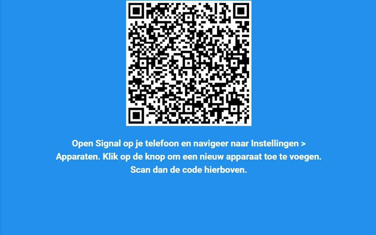 Signal desktopclient