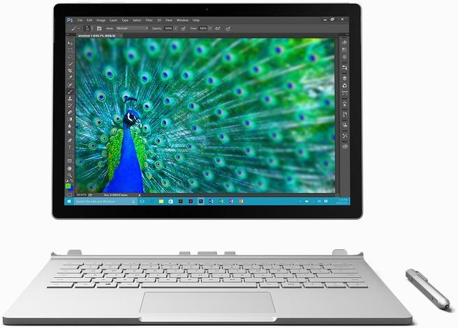 Microsoft Surface Book Core i7 6600U 16GB 512GB
