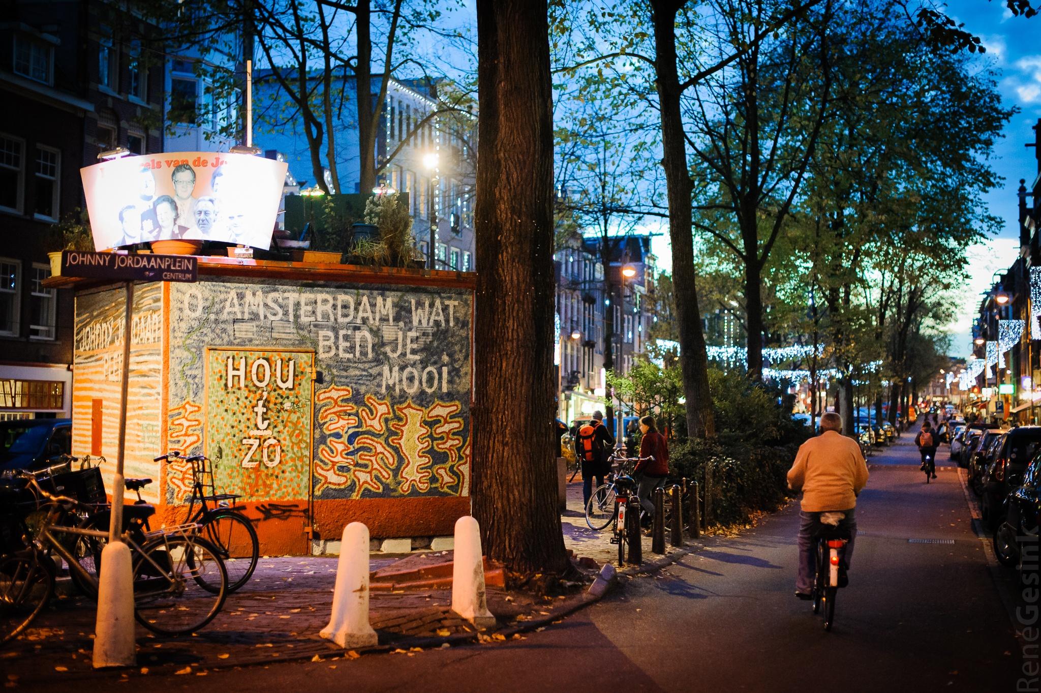 O, Amsterdam wat ben je mooi