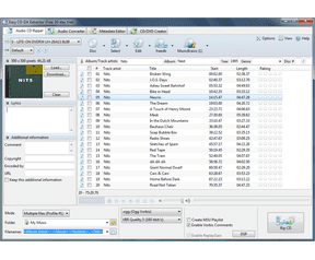 Easy CD-DA Extractor 2010.2 screenshot