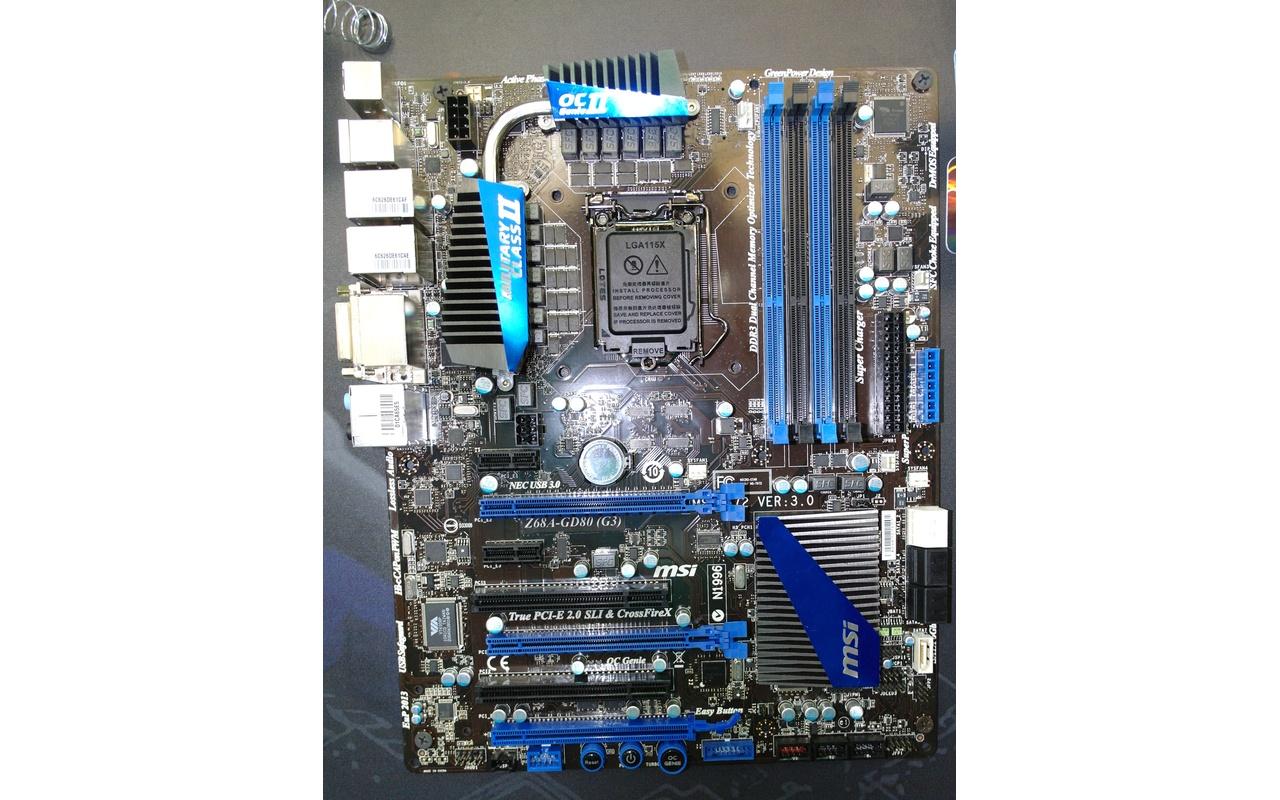 MSI Z68A-GD80 (G3)