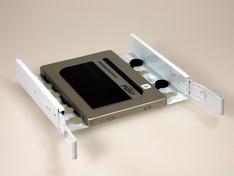 Bovenzijde drive tray met SSD