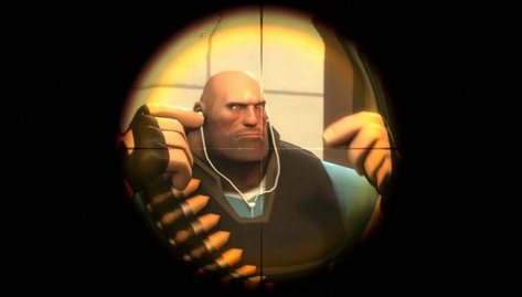 Team Fortress 2 in-game iPod earbuds