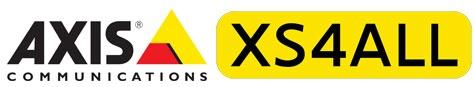 Logo's Axis en XS4ALL