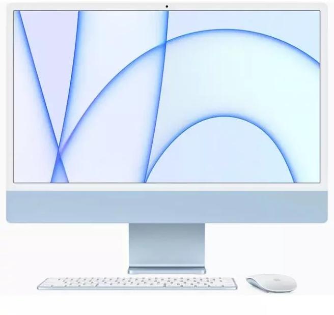 """Apple iMac 24"""" Retina 4.5K (2021) M1, 8GB, 256GB ssd"""