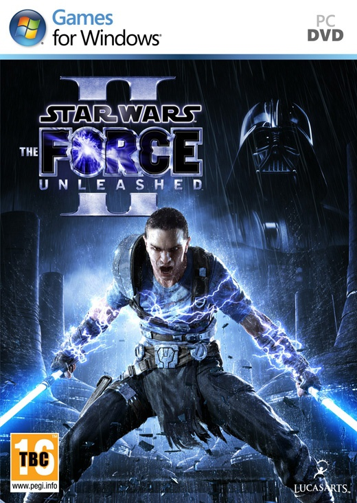 Packshot voor Star Wars: The Force Unleashed II