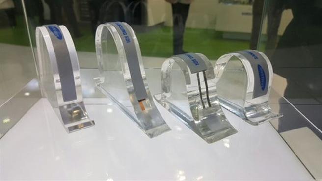 Samsung vouwbare accu