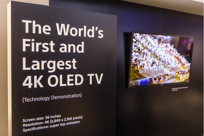 Sony gaat volgend jaar oled-tv's verkopen - Beeld en geluid