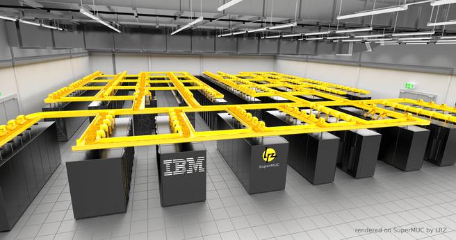 Europa's snelste supercomputer SuperMUC