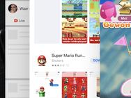 Screenshot iPhone X met iOS 11.1