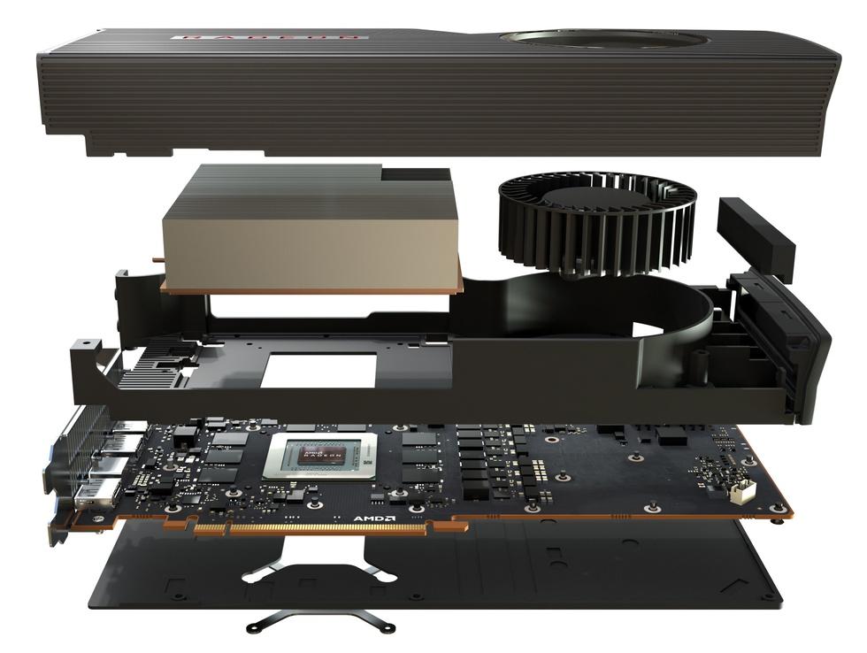 Radeon RX 5700XT met blowerkoeler
