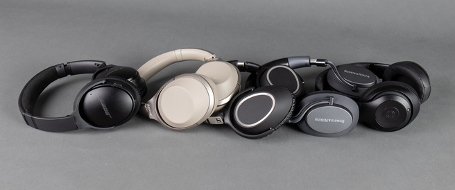 5 noise cancelling koptelefoons