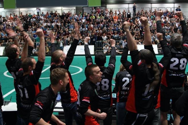 RoboCup 2016 Tech United finale