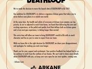 Uitstel Deathloop