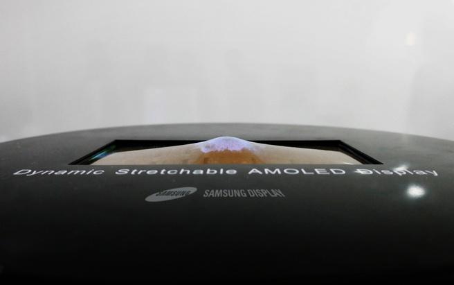 Samsung indrukbaar oledscherm