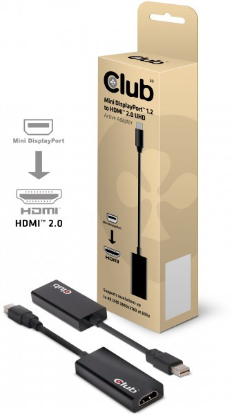 Club 3d hdmi 2.0-adapter