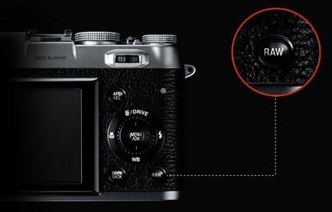 Fujifilm FinePix X100 details