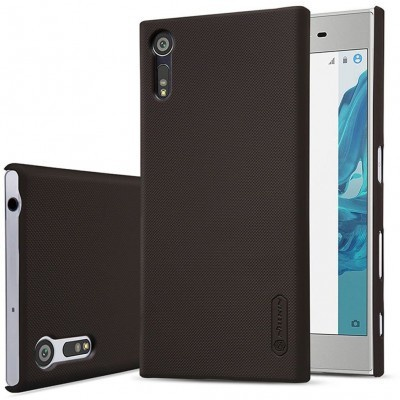Nillkin Backcover Sony Xperia XZ - Super Frosted Shield - Brown