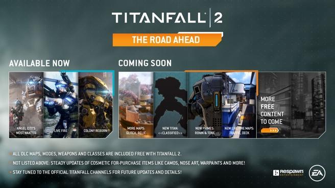 Titanfall 2 Road ahead