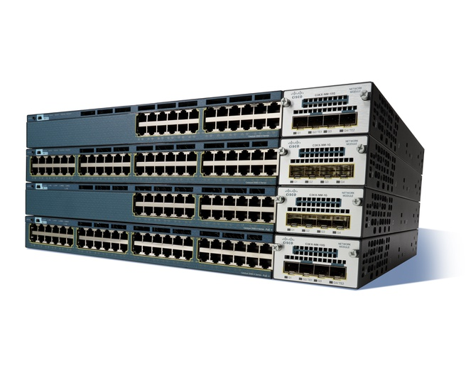 Cisco Catalyst Catalyst 3560-X 24 x 10/100/1000Base-T (435 Watt PoE) IP Base