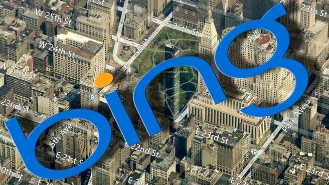 Bing Maps in 3d
