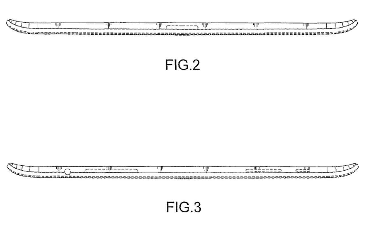Samsung designpatent tablet sides