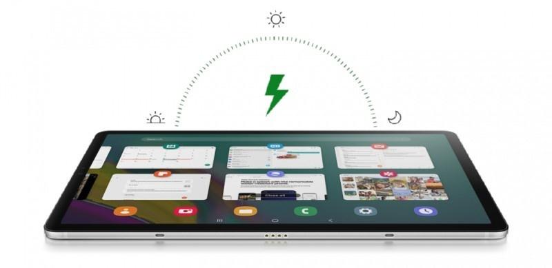 Samsung Tab S5e charging
