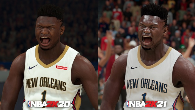NBA 2K21 op PlayStation 5