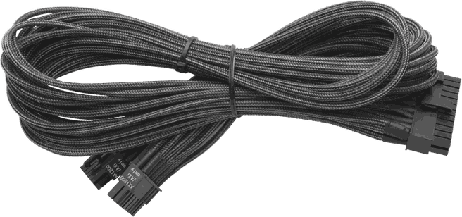 Corsair CP-8920060 (CP-8920060) Individually Sleeved 24pin ATX Cable (Generation 2) type 3 Metallic Graphite