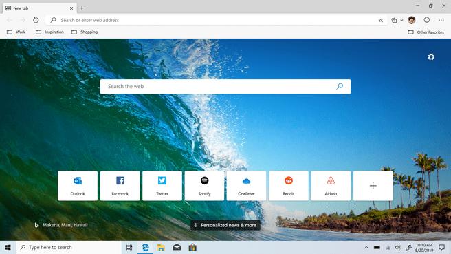 Microsoft Edge-bèta