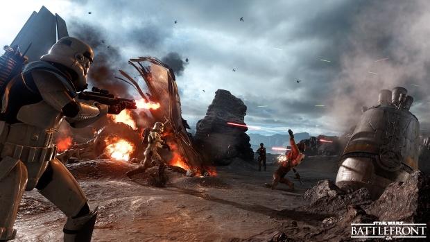 Battlefront screen