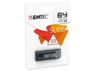 Goedkoopste Emtec C450 Slide 64GB Grijs