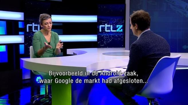 Vestager bij RTL Nieuws