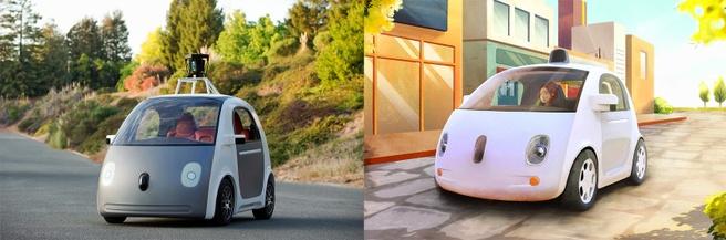 Prototype autonome auto